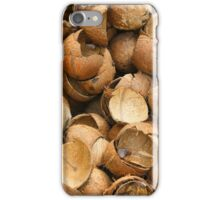 Pile of Coconut Shells iPhone Case/Skin