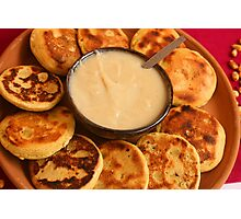 Ecuadorian Pancakes Photographic Print
