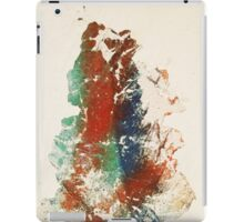abstract level contruction n.5 iPad Case/Skin