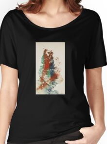 abstract level contruction n.5 Women's Relaxed Fit T-Shirt