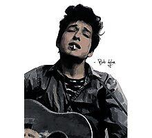 Bob Dylan Photographic Print