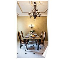 table setting  Poster