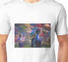 Impressionistic Pow Wow 1 Unisex T-Shirt