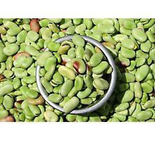 Lima Beans Photographic Print