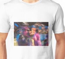 Impressionistic Pow Wow 2 Unisex T-Shirt