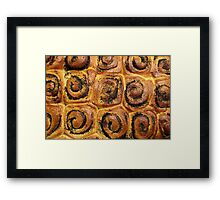 poppy rolls Framed Print