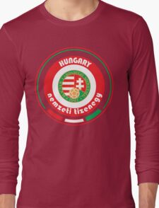 Euro 2016 - Team Hungary Long Sleeve T-Shirt