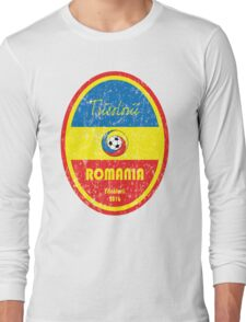Euro 2016 Football - Romania Long Sleeve T-Shirt
