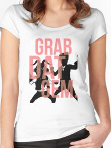 The Weekly Planet - GRAB DAT GEM. Women's Fitted Scoop T-Shirt