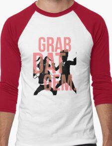 The Weekly Planet - GRAB DAT GEM. Men's Baseball ¾ T-Shirt