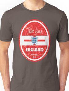 Euro 2016 Football - England Unisex T-Shirt