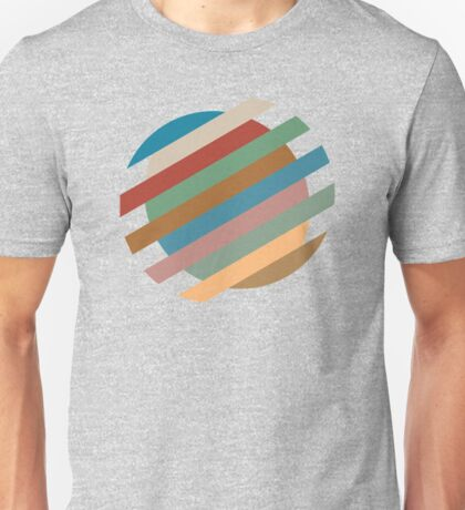 Circle Sliced Unisex T-Shirt
