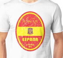 Euro 2016 Football - Espana Unisex T-Shirt