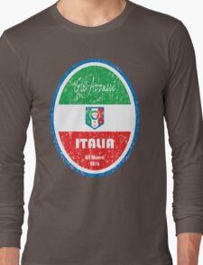 Euro 2016 Football - Italia Long Sleeve T-Shirt