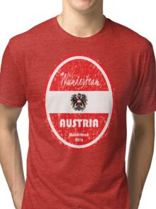 Euro 2016 Football - Austria Tri-blend T-Shirt