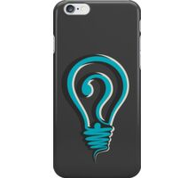questioning design concept iPhone Case/Skin