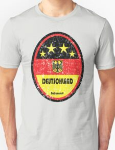 World Cup Football 3/8 - Deutschland (Distressed) T-Shirt