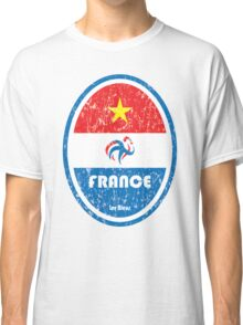 World Cup Football 7/8 - France (Distressed) Classic T-Shirt