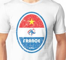 World Cup Football 7/8 - France (Distressed) Unisex T-Shirt