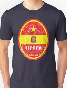 World Cup Football 8/8 - Espana (Distressed) Unisex T-Shirt
