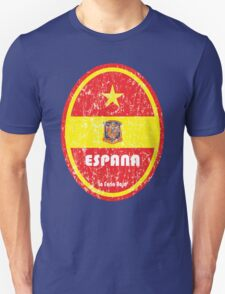World Cup Football 8/8 - Espana (Distressed) T-Shirt