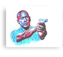 Denzel Washington Equalizer movie Canvas Print