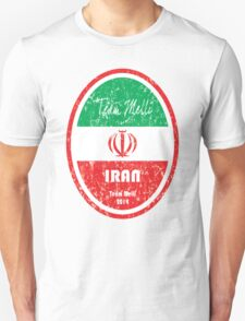 World Cup Football - Iran Unisex T-Shirt