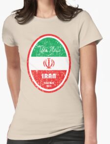 World Cup Football - Iran Womens Fitted T-Shirt