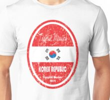World Cup Football - Korea Republic (distressed) Unisex T-Shirt