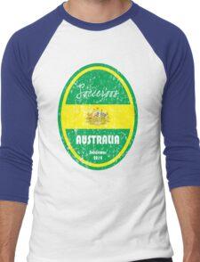 World Cup Football - Australia (distressed) Men's Baseball ¾ T-Shirt