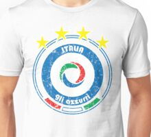 World Cup Football 2/8 - Team Italia (distressed) Unisex T-Shirt