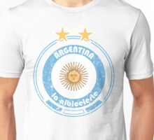 World Cup Football 5/8 - Team Argentina (distressed) Unisex T-Shirt