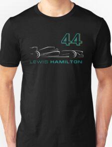 F1 Lewis Hamilton 44 T-Shirt