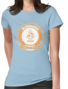 World Cup Football - Team Netherlands (distressed) Womens Fitted T-Shirt