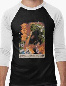 bowzilla Men's Baseball ¾ T-Shirt