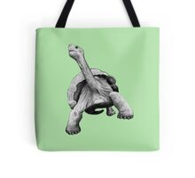 Turtle or Tortoise, Hand Drawn, Pencil Art Tote Bag