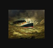 A digital painting of RMS Titanic, especially for Woodie Unisex T-Shirt