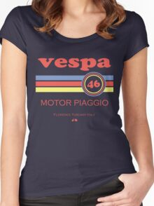 Vespa 46 Women's Fitted Scoop T-Shirt