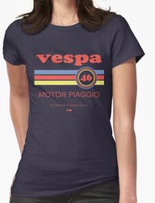 Vespa 46 Womens Fitted T-Shirt