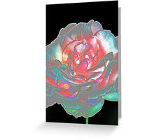 Rose petals - abstract Greeting Card