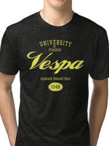 VESPA UNIVERSITY Tri-blend T-Shirt