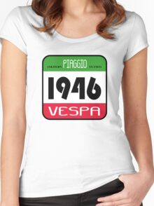 VESPA 1946 Women's Fitted Scoop T-Shirt