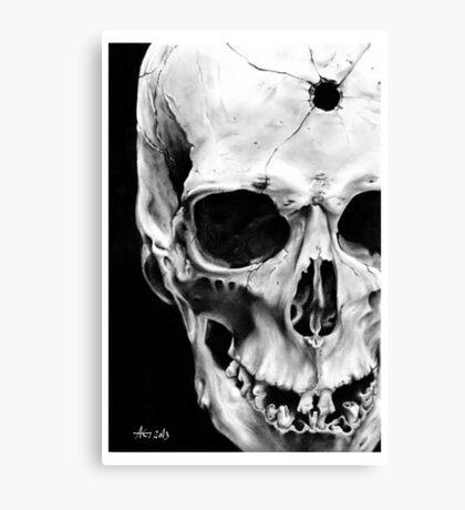 Till death do us part Canvas Print