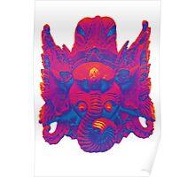 Rave on Ganesha - Poster Print Poster