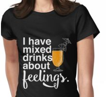 Mixed Drinks Womens Fitted T-Shirt