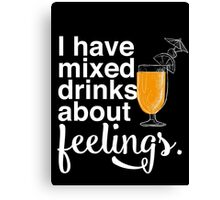 Mixed Drinks Canvas Print