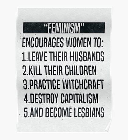 Feminism-ism Poster