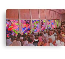 Abstract performance Canvas Print