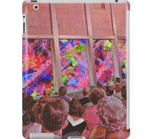 Abstract performance iPad Case/Skin