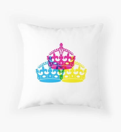 Royal Primary Colours Throw Pillow